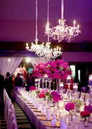 wedding reception table decorations new eb2d71748a06f8c7f929e3437665a1 pink chandelier crystal chandeliers