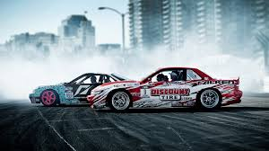 street drift cars street racing cars smoke drift wallpapers