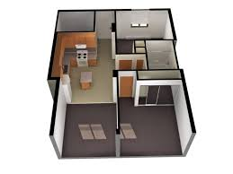 apartments open concept small house plans small open floor plan
