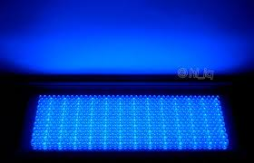 30w ac 711pcs blue led panel grow light ledpanel