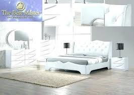 white leather bedroom sets white modern bedroom furniture king bedroom sets contemporary modern
