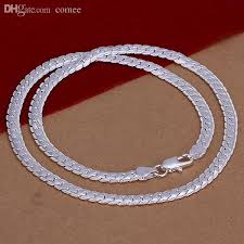 silver fashion statement necklace images 2018 wholesale statement necklaces snake chain 925 silver mens jpg