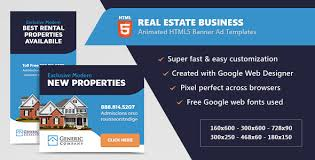 real estate business banner ads html5 animated gwd by infiniweb