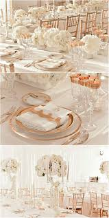 gold and ivory wedding decorations rose gold and ivory wedding