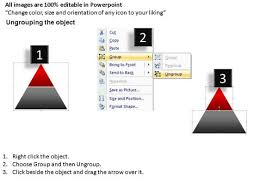 rendered 2d pyramid simple powerpoint slides and ppt diagram