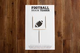 football brain teaser printable u2014 all for the boys