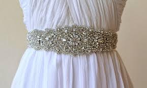 Wedding Sashes 10 Beautiful Bridal Sashes U0026 Belts To Make Your Dress Unique