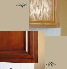 Restain Oak Kitchen Cabinets Kitchen Restaining Kitchen Cabinets Intended For Marvelous How