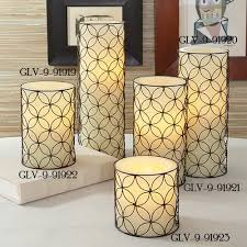 Global Views Arabesque Rug Global Views 9 91919 Arabesque Transitional Pillar Candle
