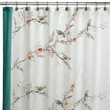 Shower Curtains With Birds Music Curtains For Bedroom