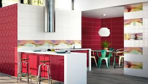 cuisine bordeaux et blanc carrelage cuisine mural et newsindo co