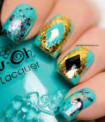 nail art u2013 aztec nails with fake tatoos my nail polish online