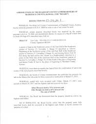 Real Estate Bill Of Sale Template by Marshall County Commission Meeting Minutes U2013 4 24 2017 Sunflower