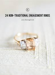 untraditional engagement rings 24 non traditional engagement rings the everygirl
