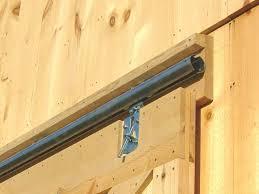 Exterior Sliding Door Track Systems Exterior Sliding Barn Door Track System Hardware Lowes Tractor