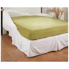Bed Frame Skirt Easy On Bed Skirt 235408 Bedding Accessories At Sportsman S Guide
