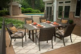Agio Manhattan by Davenport Collection 7 Piece Outdoor Patio Dining Set Rc Willey