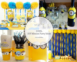 minions party ideas 21 cool diy minion party ideas minionsallday