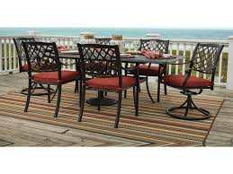 signature design by tanglevale outdoor dining table set