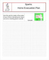 Evacuation Floor Plan Template 6 Evacuation Plan Templates Free Sample Example Format Download