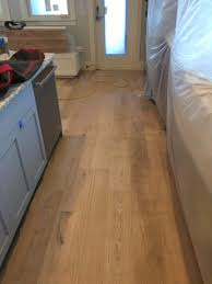 character grade white oak flooring install sand and finish