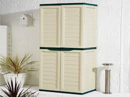 Plastic Cabinets Garden Storage Cabinet Home Outdoor Decoration