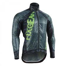 cycling windbreaker jacket flexfix blue camo fixgear flexible cycling windbreaker