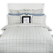 fresh flannel duvet cover twin blue 7402