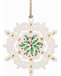 bargains on pierced snowflake ornament by lenox