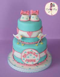 Tiffany Blue Baby Shower Cake - 167 best baby bootie cakes images on pinterest baby shower cakes