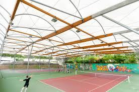 indoor tennis court construction covered tennis court