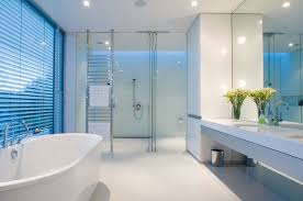 Monochromatic Bathrooms Designs Youll Love Decorating And - Bathroom design concepts