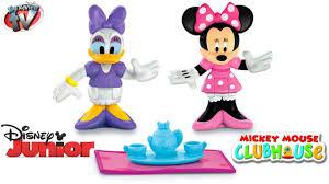 disney junior minnie u0026 daisy teatime figure toy review fisher