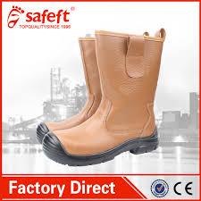 brown carolina no lace men u0027s steel toe work boots made in china