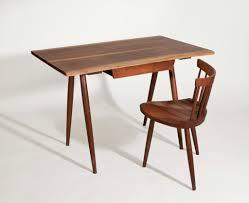 george nakashima desk with mira chair ca 1958 artsy