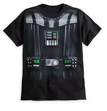 disney store star wars darth vader mens halloween costume t shirt