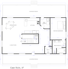 architectures cape style house plans floor plans for ranch homes