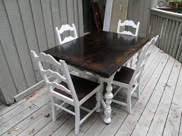 kitchen table refinishing ideas kitchen table and chairs rustic makeover alewood furniture co