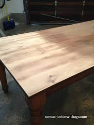 how to stain pine table dining room table makeover so much better with age