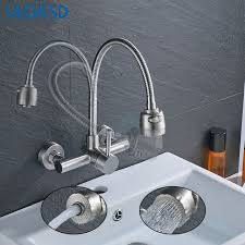 Kitchen Faucet Outlet Ulgksd Kitchen Faucet 2 Types Outlet Sprayer Deck Wall Mount