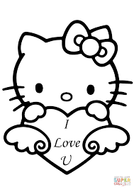 printable coloring pages i love you