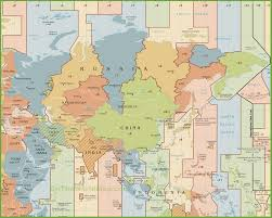 Printable Us Time Zone Map by Asia Time Zone Map