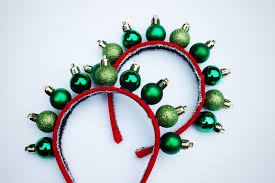 christmas headbands mr kate diy christmas ornament headband