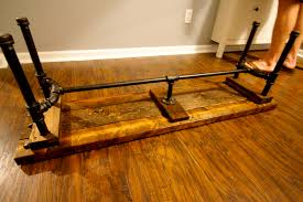 orc week 5 diy industrial pipe bench u2022 charleston crafted