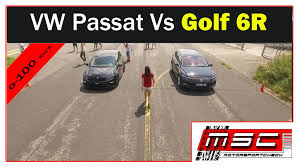 vw snowman vw passat b8 2 0 bitdi vs vw golf 6 r youtube