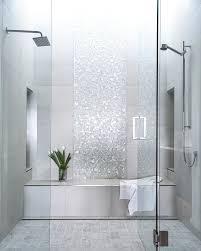 ideas for bathroom showers image of ceramic bathroom tile ideas doorless walk in shower walk