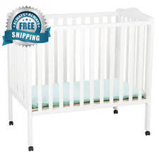 Delta Portable Mini Crib Mini Crib Mattress Ebay