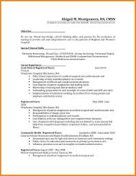 Example Career Objective Resume by Sample Nursing Resume With Job Description