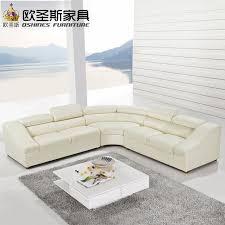 modèle canapé semi cercle demi lune en cuir canapé ensemble mobilier moderne