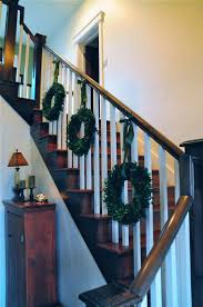 159 best christmas stairs images on pinterest stairs christmas
